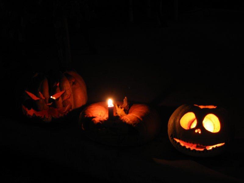 My poor jack-o-lantern on 10/31